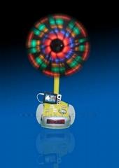 SPC-301F Multi-functional LED Alarm Clock Stereo Music Player