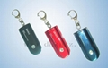 Solar Powered LED Keychain Light