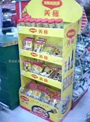 香港化妝品紙廣告架