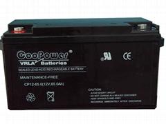 蓄电池12V 65AH