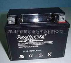 摩托車電池12V 4AH