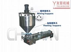 CHQN气动浓酱搅拌灌装机