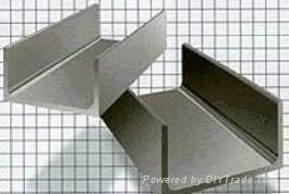 台湾304不锈钢槽钢,304不锈钢角钢,304不锈钢扁钢 1