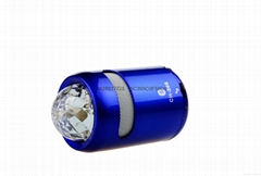 Mini Disco light Bluetooth speaker support USB TF FM Radio with CH-206