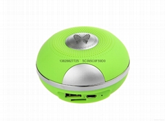 Outdoor CH-220ULED Wireless Portable Bluetooth speaker Mini TF/SD Card With MIC