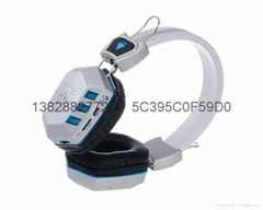 CH-10 LED Wireless Portable Bluetooth Headset TF/SD Card With MIC handsfree Musi