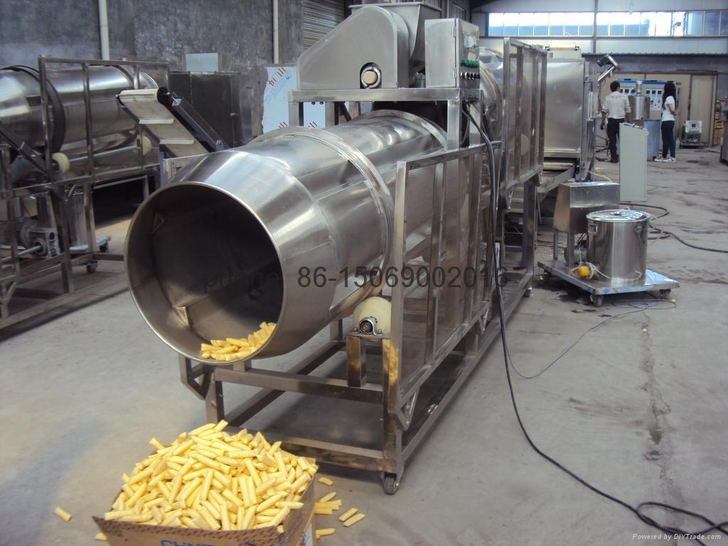 Industrial Food Products : Snacks food processing line machine tse iii sr