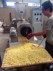 膨化玉米棒生產設備/加工食品機械