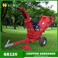 ATV Petrol Wood Chipper Shredder with CE 2