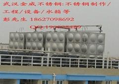 武漢不鏽鋼組合式方形消防水箱