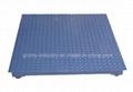 Weighing Floor Scale Platform Scale 1t