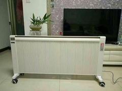 暖煌煤改电设备双面移动碳纤维电暖器
