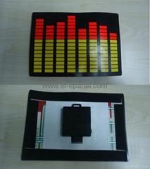 lightweight wireless EL panel for t-shirt