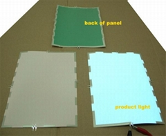 cuttable el panel, el backlight panel in any color