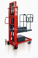 Semi-automatic High Level Order Picker