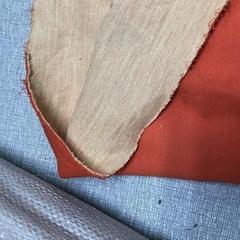 新款消防抢险救援手套380克芳纶橘红双面针织布