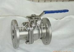 GB high mouting pad ball valve