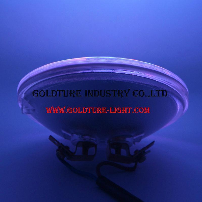 LED PAR36 Bulb 9W (Eq to 50W Halogen) 10-30V Daylight 5000K Waterproof IP68
