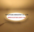 AC 85-265V LED Panel Light 3W LED ceiling Light Round Ultra thin LED downlight,