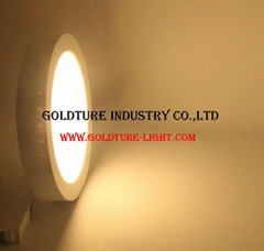 6W Square/Round Led Pane