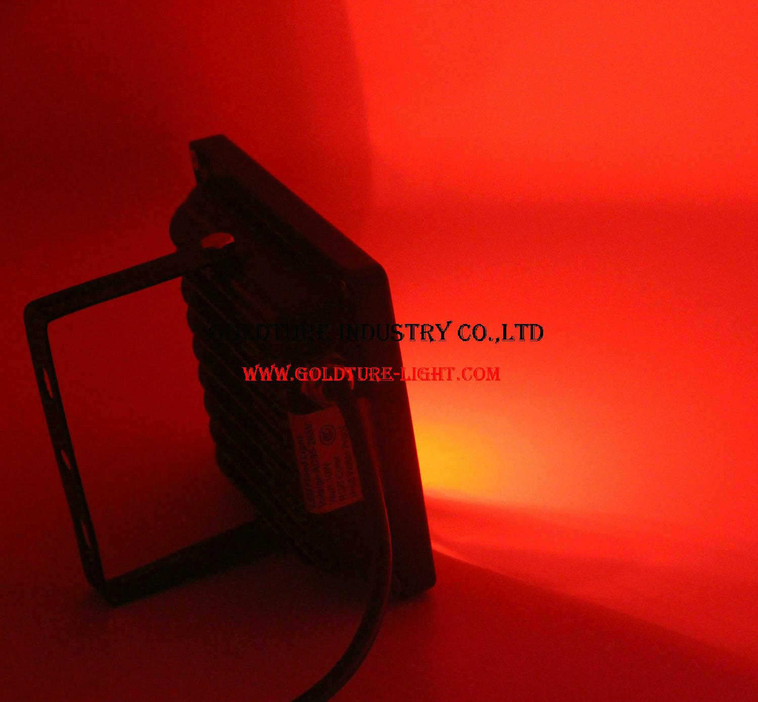 RGB Flood Light 30W COB Outdoor Floodlight IP65 Waterproof 2