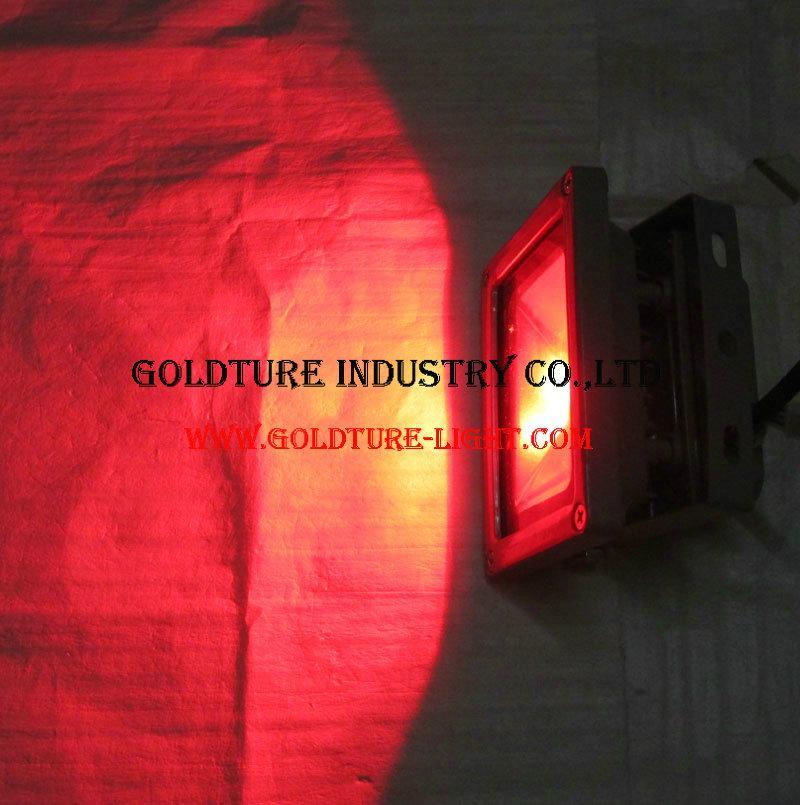 10W LED Flood Light RGB Reflector Spotlight Outdoor Wall Lamp Projectors 1