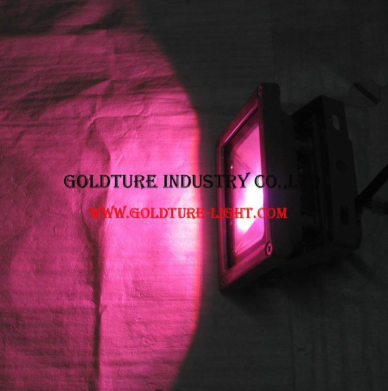 10W LED Flood Light RGB Reflector Spotlight Outdoor Wall Lamp Projectors 3