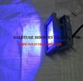 10W LED Flood Light RGB Reflector Spotlight Outdoor Wall Lamp Projectors 4