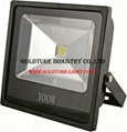 100W Flood Light Led Floodlight Outdoor Lighting Landscape Projector Lamp 1