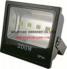 LED Flood Light 200W Waterproof IP65 Projector Floodlight Led Light Outdoor Wall