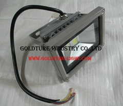 led light flooding 10w coat ip65 lamp camping outside light projector