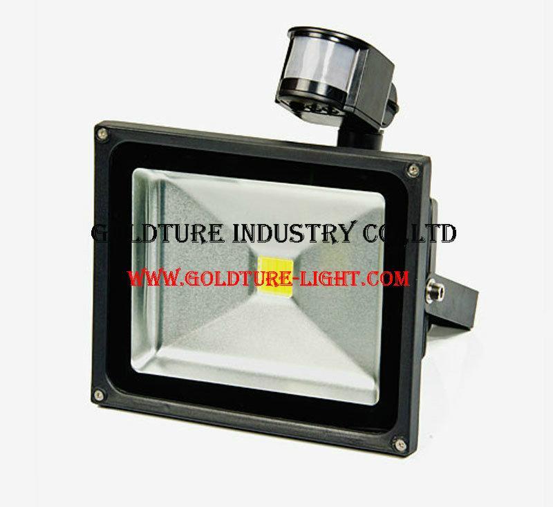 30W PIR Motion Sensor LED Flood Light AC 220V-240 Reflector LED Lamp Floodlight 1