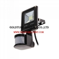 10W LED Motion Sensor Flood Lights PIR