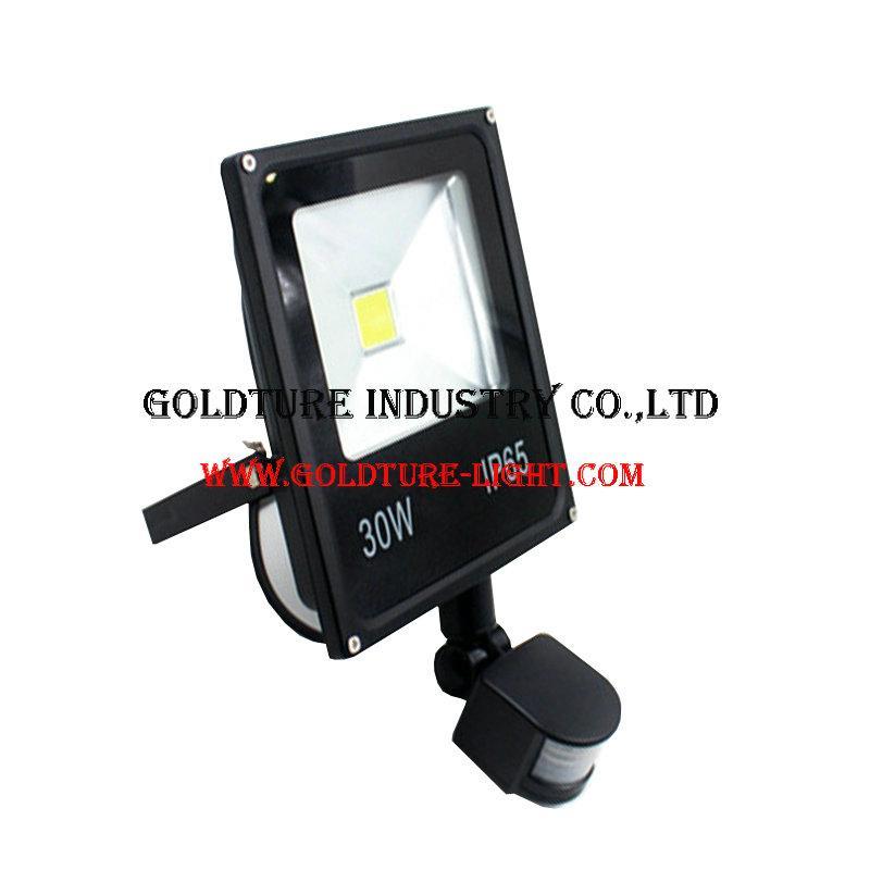 Spotlight Led Reflector 30W Lamps Floodlight With PIR Motion Sensor 1
