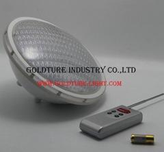 60W par56 led glass 12v underwater light ip 68 waterproof