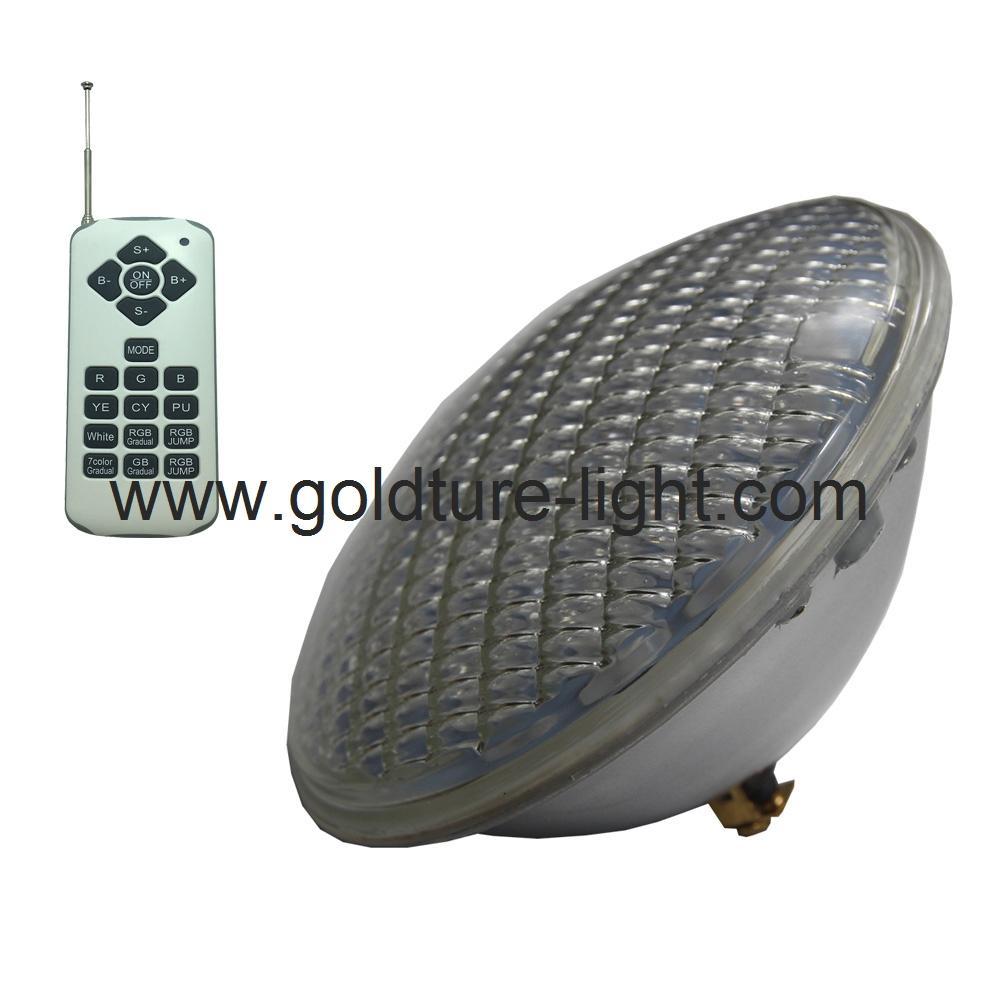 luz piscina 12v Pool Light LED PAR56 22W RGB Spa Lamp IP 68 Water proof Warm Whi 1