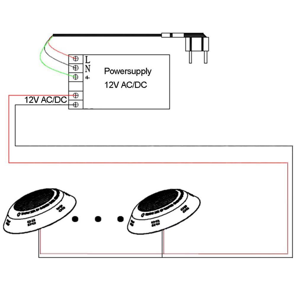 swimming pool light remote control 15W Underwater IP 68 2