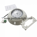 swimming pool floodlights underwater lights RGB 12v 1