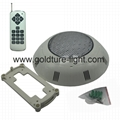 ip68 waterproof led pool light 18w RGB