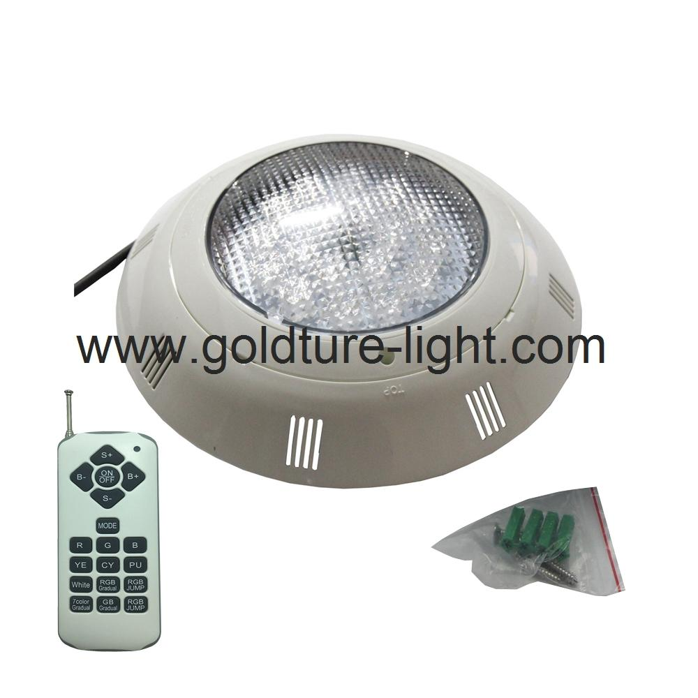 high quality led swimming pool light 18W RGB with remote 1