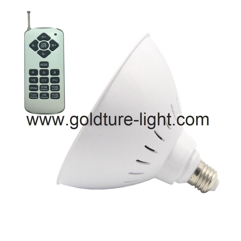 led swimming pool light 35W rgb par56 pool bulb 300W replacement  1