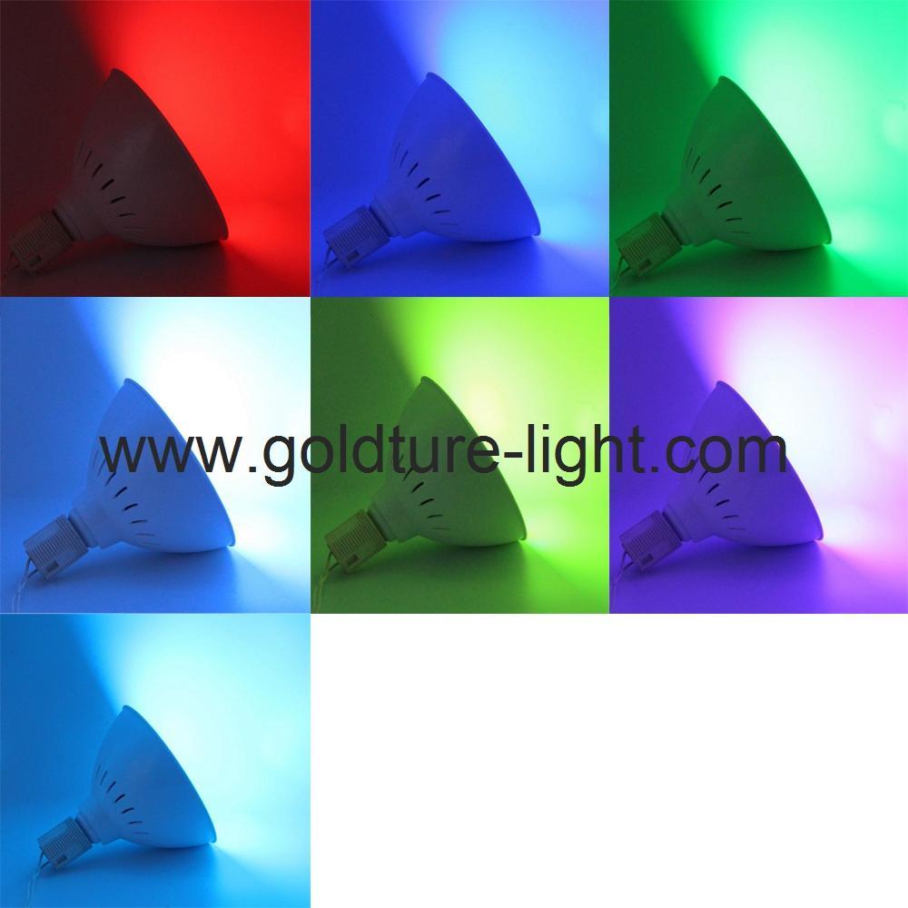 led swimming pool light 35W rgb par56 pool bulb 300W replacement  5