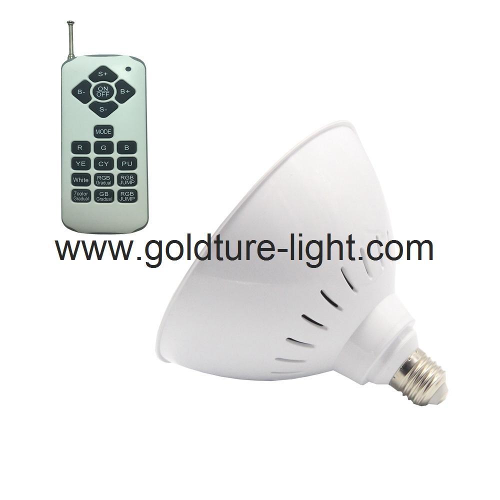 PAR56 Replacement 18W 24W 35W 40W RGB Pool Lights E27 socket For Pentair Hayward 1