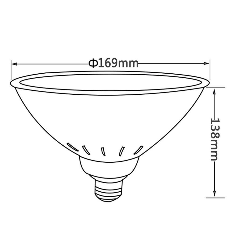 PAR56 Replacement 18W 24W 35W 40W RGB Pool Lights E27 socket For Pentair Hayward 6