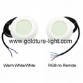 Underwater Spot Light 9W 12W RGB Pool Lights 12v Multicolor Synchronous