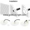 RGB LED Light 9W 12W Under water Pool Lights 12v Jacuzzi LED Warm White