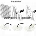 RGB Pool Piscina LED Underwater Light 9W 12W 12V LED Light Cold White 6
