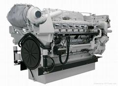 卡特彼勒船用推进发动机