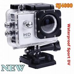 高清1080P 防水H.264 运动头盔相机SJ4000