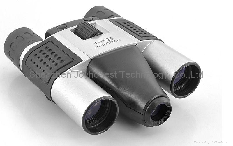 Binoculars With 10 X Magnification And Built-in Digital Camera  1